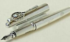 Cross Sterling  Silver Limited Edition Tennis Fountain Pen New In Box 0093/1954