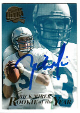 Rick Mirer Seattle Seahawks QB SIGNED autographed card Notre Dame 1994 Ultra