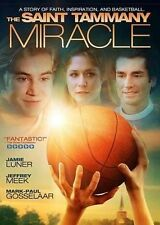 The St. Tammany Miracle rare Christian dvd Basketball SOLEIL MOON FRYE