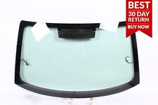 09-16 Audi A4 Rear Windshield Window Auto Glass Panel Assembly Black A68 OEM