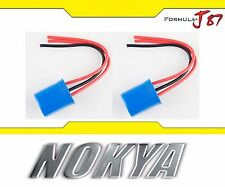 Nokya Wire Harness Pigtail Male 9007 HB5 Nok9153 Head Light Socket Connector Fit