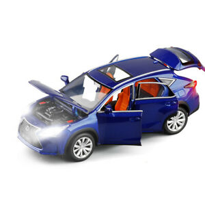 Lexus NX200T SUV 1:32 Diecast Model Car Toy Collection Luminous Pullback Gift