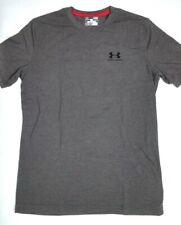 Under Armour Men's T-Shirt Small Loose Gray Heat Gear S