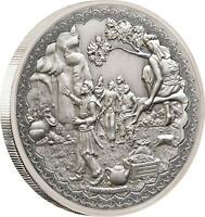 Niue - 2019 - Silver $2 Proof Coin- 1 OZ Ali Baba and the Forty Thieves