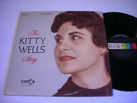 The Kitty Wells Story 1963 Double Stereo LP VG++