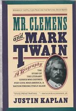 Mr. Clemens and Mark Twain : A Biography by Justin Kaplan (1991, Paperback)