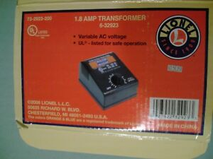 Lionel #6-32923  1.8 Amp Transformer  Empty Box  For Storage Of Your Transformer