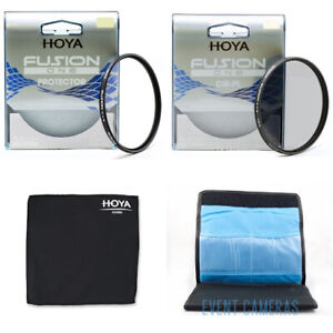 Hoya 77mm Fusion One Starter Kit - Includes Protection, CPL, Wallet & Lens Cloth