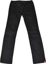 Indigo -/dark-washed Esprit L32 Damen-Jeans mit mittlerer Bundhöhe