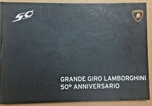 Lamborghinis 50th Anniversary Factory Trip Brochure/Itinerary+Aventador Pictures