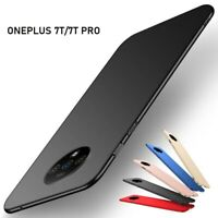 For OnePlus 7T Pro 7 Pro 6T 6 New Ultra Slim Shockproof Hard PC Matte Case Cover