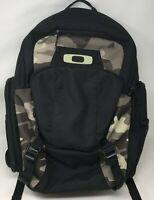 "Oakley Blade 30L Cresting 15"" Laptop MacBook Pro Black Camo Backpack Day Pack"
