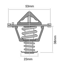Tridon Thermostat TT1742-203 for VOLKSWAGEN PASSAT 2008~2015 1.8L 2.0L