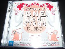 Triple J One Night Stand Dubbo CD DVD Rubens Flume Seth Centry Ball Park Music