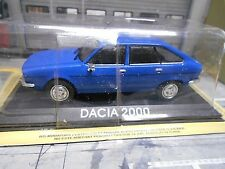 DACIA 2000 ( Renault 20 ) Rumänien blau Limousine IXO Altaya S-Preis 1:43