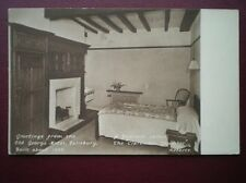 POSTCARD WILTSHIRE SAILSBURY - OLD GEORGE HOTEL - 'CLARENDON CHAMBER'