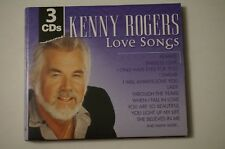 KENNY ROGERS LOVE SONGS 3 Cd's Great Music! 30 Songs Madacy SELF TITLED MINT
