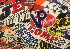 Lot of 45+ Racing Decals Stickers Tool Box Garage NHRA Body Random Assortment