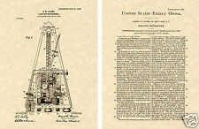 1906 Adams METRONOME US PATENT ART PRINT!!! READY TO FRAME and HANG piano violin