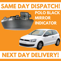VW Volkswagen Polo 6R 09-18 Lower Wing Door Mirror Cover Indicator Drivers Side