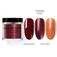 Born Pretty Nails Dipping Powder - Mirror Effect - Burgundy Shade - *WHISPER*
