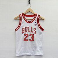 Vintage Michael Jordan #23 Chicago Bulls Champion Jersey Size Youth Small NBA