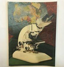 Historischer Reichert MikroskopKatalog75 Jahr Jubiläum/ vintage microscope
