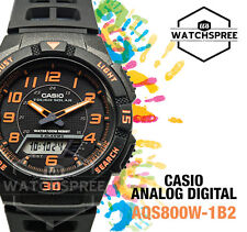 Casio Analog Digital Tough Solar Watch AQS800W-1B2 AQ-S800W-1B2 AU FAST & FREE