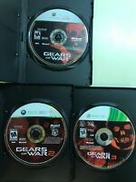 Gears of War Lot 1, 2, 3 - Xbox 360 Game Bundle GOW Trilogy - 3 Games