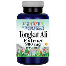 Tongkat Ali Extract 900mg 180 Capsules (Eurycoma Longifolia) Root Extract 100:1