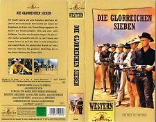 (VHS) Die glorreichen Sieben -Yul Brynner, Eli Wallach, Steve McQueen,C. Bronson