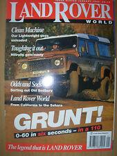 LAND ROVER WORLD MAGAZINE JANUARY 1995