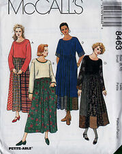 Sewing Pattern McCalls 8463 Womens Loose-fitting Pullover Dress Sz. 8, 10 Uncut