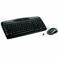 Logitech MK330 Combinación de Teclado Español y Ratón Inalámbricos - Negros