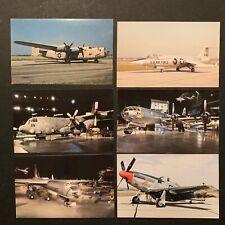 Military Airplane Postcards (10) Chrome Cards
