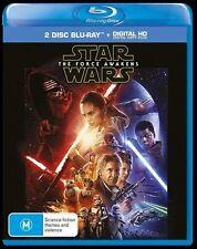 The Star Wars - Force Awakens (Blu-ray, 2016, 2-Disc Set)