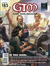 GTM Game Trade Magazine #185, July + Aeroplanes & Extra! Extra! Promo Tiles
