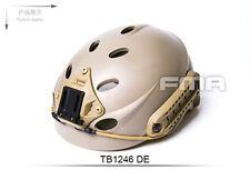 FMA PJ Special Force Recon Tactical Helmet DE For Airsoft TB1246-DE cag oda