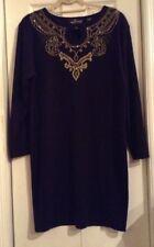 Carole Little Women's M Black Dress Vintage 1990's