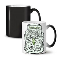 Psychedelic NEW Colour Changing Tea Coffee Mug 11 oz | Wellcoda
