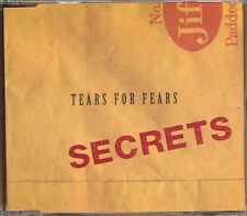 Tears For Fears Secrets RARE promo import CD single '95