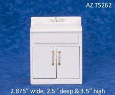 Classic White Sink Dollhouse Miniature 1:12 Scale