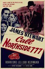 CALL NORTHSIDE 777 1948 DVD James Stewart DVD-R B&W