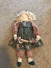 Cloth Country Doll Handmade