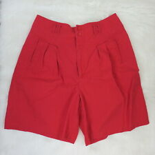 Gitano Red Vintage High Rise Mom Shorts - Women's 18