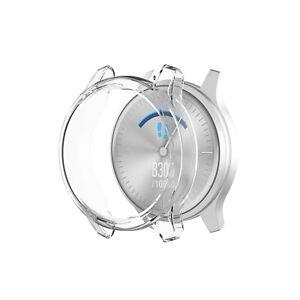 For Garmin vivomove Luxe/vivomove Style Watch Soft Protective Case Clear Cover