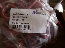 9380403 KRONE M&W ROUND BALER TOOTH LOT OF 5