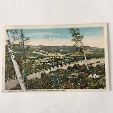 Stamford Valley Mohawk Trail Berkshire Hills Mass. Postmark 1917 Postcard
