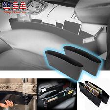 2x Car Seat Seam Bag Auto Seat Gap Storage Box Pocket Organizer Box Portable Bag