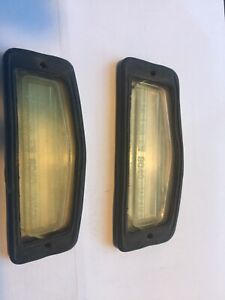 Datsun Roadster License Plate Lens (Pair) - 1969-70